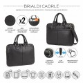 Brialdi Сумка для документов Caorle relief black