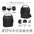 Brialdi Мужская сумка Exeter relief black